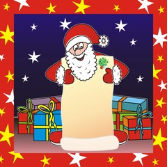 Santa claus - list foto