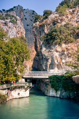 Canyon entrance - Saklikent and Xanthos River / Turkey
