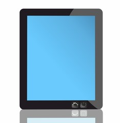 tablet pc - isolated