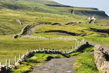 Fotobehang Pistache Irish Landscape, Co. Clare