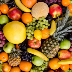 still life multifruit background