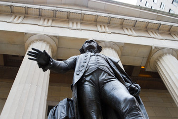 Federal Hall on Wall St., NY