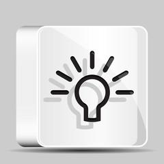 Idea bulb button