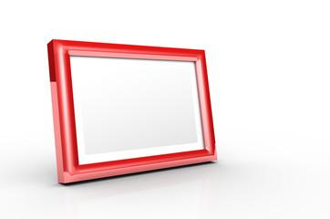 Aluminium Bilderrahmen Rot
