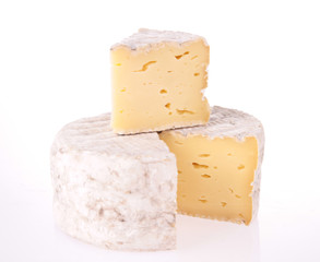 isolated cheese