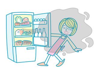 冷蔵庫の匂い