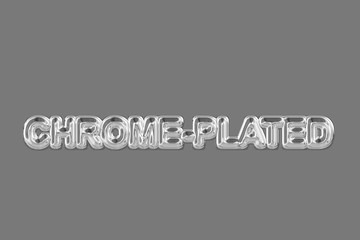 Chrome-platted (Text serie)