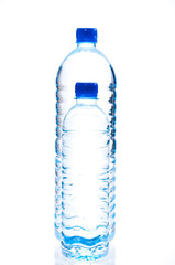 Large and small water bottle