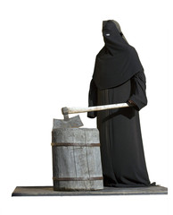 The executioner with an axe.