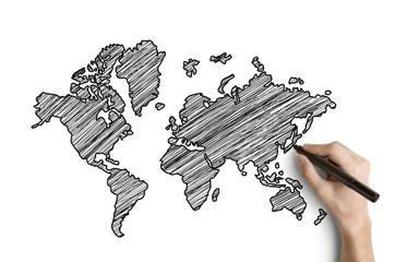 drawing map