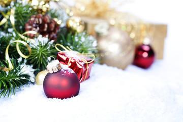 Christmas composition