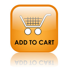 """""""ADD TO CART"""" Web Button (shopping order online buy click here)"""