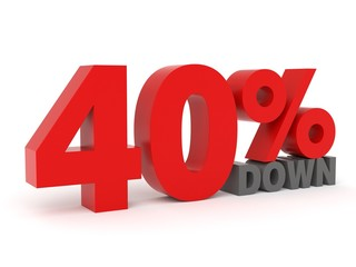 40% down - from my 3d discount collection
