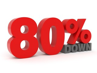 80% down - from my 3d discount collection