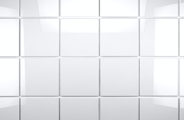 fondo de baldosas blancas brillantes