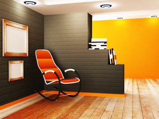 the creative partition and an armchair