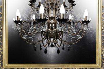 beautiful antique chandelier