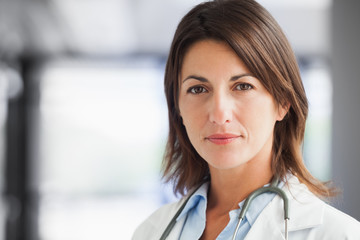Doctor in corridor