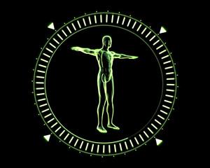 Green Human Circle
