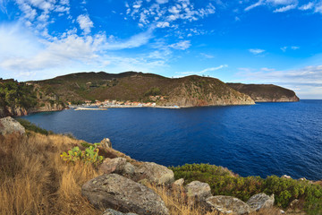 Capraia Island.