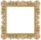 cadre baroque carr argent fichier vectoriel libre de droits sur la banque d 39 images fotolia. Black Bedroom Furniture Sets. Home Design Ideas
