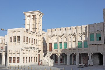 Souq Waqif in Doha. Qatar, Middle East