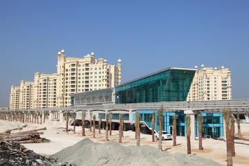 Trump Tower Station at The Palm Jumeirah in Dubai