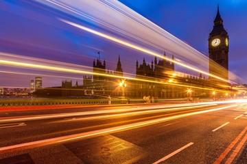 Traffic on Westminster Bridge
