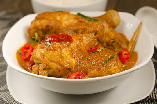 Kari Kapitan: Malaysian / Nyonya chicken curry with coconut milk