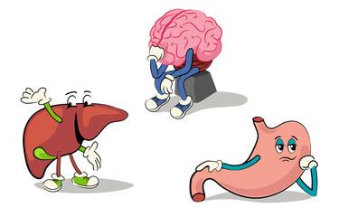 character set internal organs 2