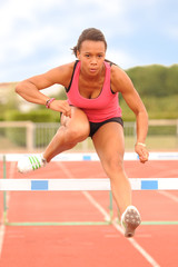 jeune athlète