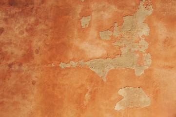 Spoed Foto op Canvas Wereldkaart detail of old wall