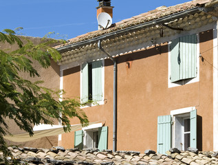 Cottage, house in French Village. Provence. France