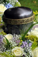 Urnenbestattung auf dem Fiedhof