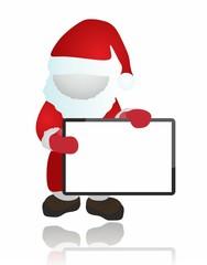 Christmas - santa and board