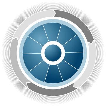 Corporate Business Wheel
