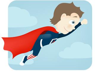 Poster Superheroes Cute Teenager