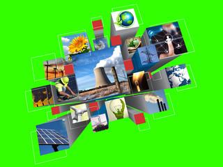 renewable energy (green bckg)