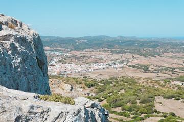 Blick über Es Mercadal - Menorca - Spanien