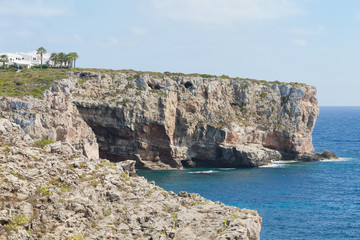 Auf den Klippen von Es Canutells - Menorca