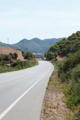 Autobahn von Menorca - Spanien