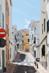 Streets of Mao - Minorca - Spain