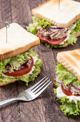 Some Tuna Sandwiches
