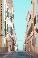 Straßen von Mahon - Spanien - Menorca