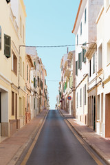 Streets of Mao - Spain - Menorca