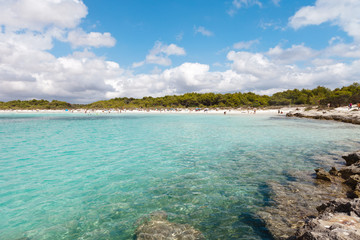 Beach of Son Saura - Minorca - Spain