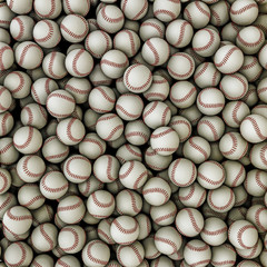 Baseballs background