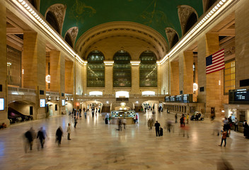 NEW YORK CITY - JUNE 26: Main hall of Grand Central Station June
