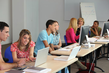 University computer class