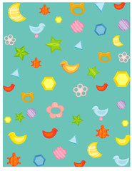 wallpaper baby toys